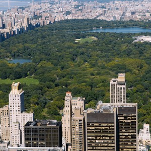 Central Park vu de l'Empire State Building