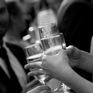 Champagne au vin d'honneur